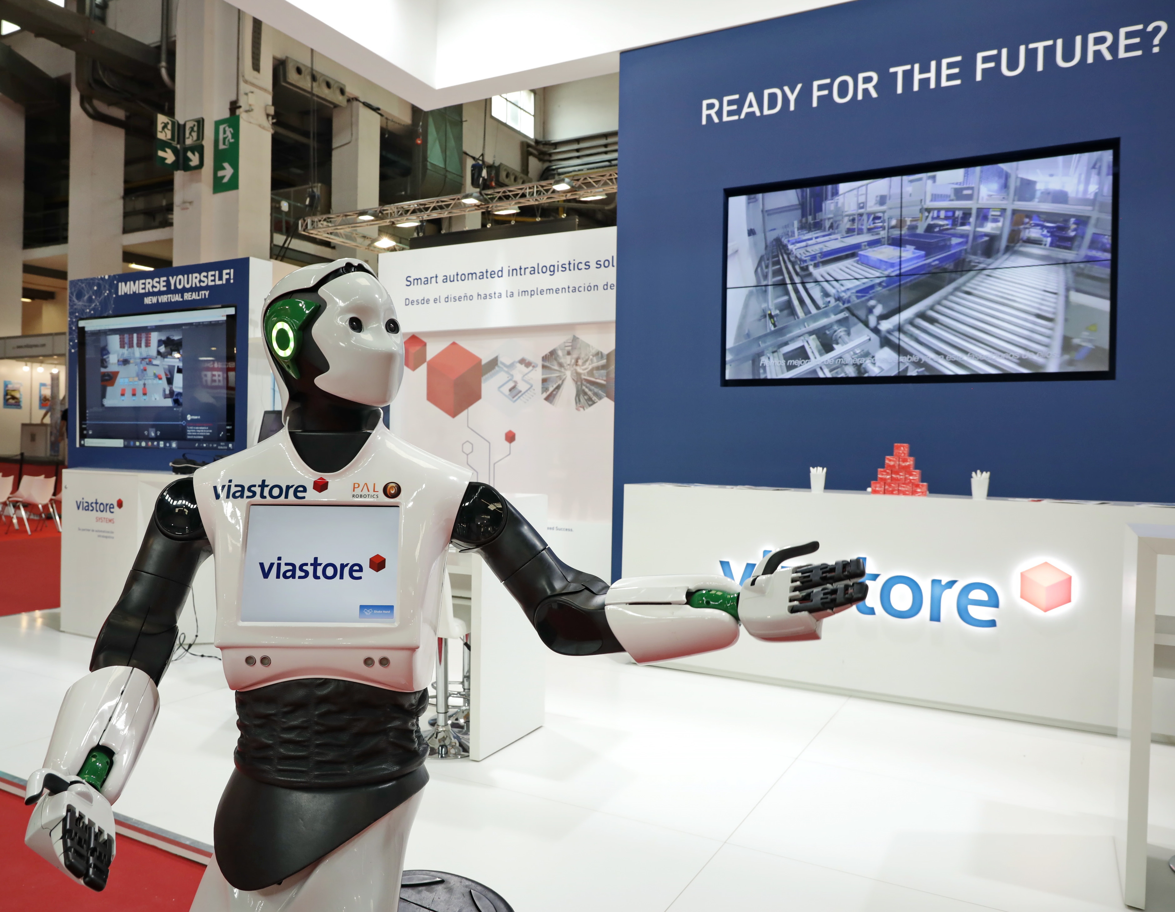 Robòtica i automatització truquen a la porta de la logística